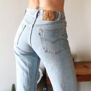 Vintage Light Wash Levi's 501 Jeans